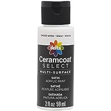 Plaid Delta 04000 Ceramcoat Select Multi-Surface Paint, 2 oz, White
