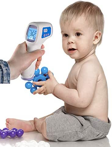#1 Forehead Thermometer for Kids - Voted Most Accurate Thermometer & Best Thermometer for Kids - No Contact Thermometer