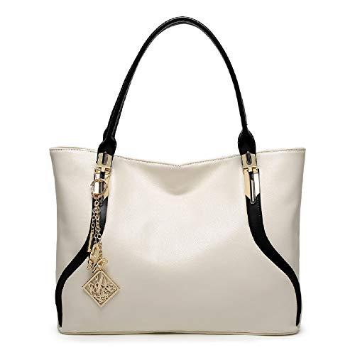 da borsa moda tracolla Borse Borsa bianche Grande eleganti con farfalle Borsa a ZHRUI a donna tracolla Bianca a tracolla con nappe UBxqg4n