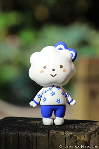 Rainbow Style China Blue Edition Designer Vinyl Toy Figure By Fluffy House