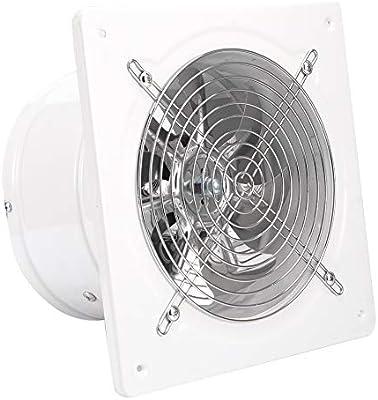 Fdit Ventilador de ventilación, 220V 180mm Ventilador de extracción Industrial Ventilador de Ventana de Pared para Cocina Oficina Cocina Baño Uso: Amazon.es: Hogar