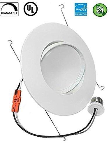 Sunco lighting 12w 6inch directional adjustable gimbal dimmable led sunco lighting 12w 6inch directional adjustable gimbal dimmable led retrofit recessed lighting fixture 60w aloadofball Images