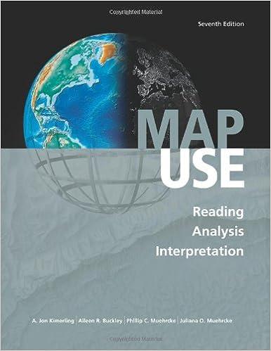 Map Use Reading Analysis Interpretation Seventh Edition A