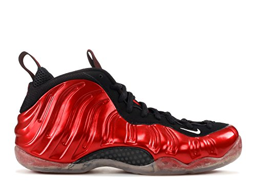 Nike Air Foamposite One Mens Sneakers 314996-007 Varsity Rosso / Bianco / Nero