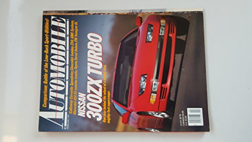 Automobile Magazine February 1991 NIssan 300ZX Turbo