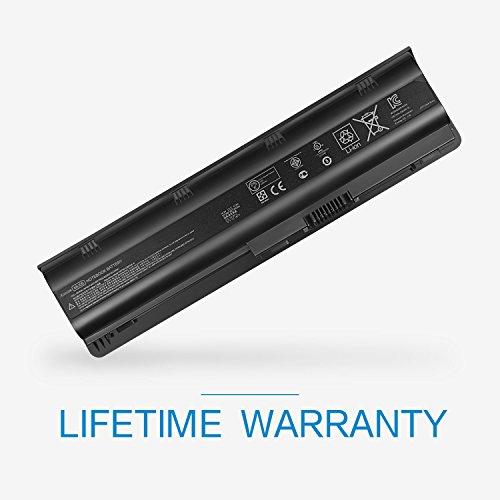(Aoesim Replacement for HP MU06 Notebook Battery 593553-001 G62 G32 G42 G42T G56 G72 G4 G6 G6T G7; Compaq Presaio CQ32 CQ42 CQ43 CQ56 CQ62 Series ; HP Envy 17 (Black))