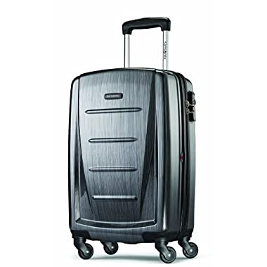 Samsonite Luggage Winfield 2 Fashion HS Spinner 20, Charcoal, One Size