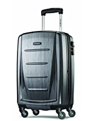 Samsonite Luggage Winfield 2 Fashion 20-Inch Carry-on Spinner, Charcoal, One Size