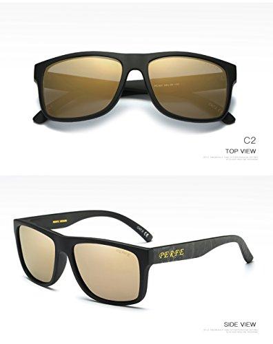 400 Gafas Hombre Sol De C1 Mujer Aviator C2 para UV para Polarizadas Protección rrvRq0nw