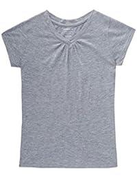 Girls' Short Sleeve V-Neck T-Shirt Tee