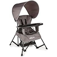 Baby Delight Go With Me Venture Deluxe Portable High Chair (Gray)