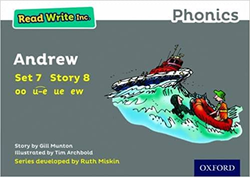 Read Write Inc Phonics Grey Set 7 Storybook 8 Andrew Munton Gill 9780198372332 Amazon Com Books
