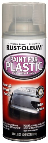 Gloss Rust Oleum (Rust-Oleum Automotive 254855 11-Ounce Paint For Plastic Spray, Gloss Clear)