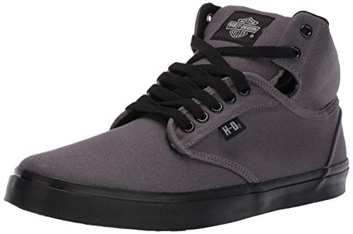 Harley-Davidson Men's Wrenford Sneaker Grey 10.5 M US