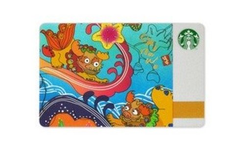 STARBUCKS 스타벅스 카드 씨티 오키나와