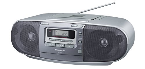 Panasonic portable CD radio cassette RX-D47-S