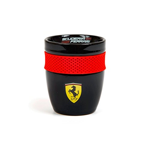 Scuderia Ferrari Formula 1 Authentic 2018 Black Scuderia Mug w/Rubber Grip