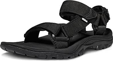 ATIKA Men's Sports Sandals Maya Trail Outdoor Water Shoes M111-BLK_250