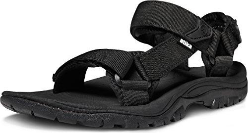ATIKA Men's Sport Sandals Maya Trail Outdoor Water Shoes, Maya(m111) - Black, 9