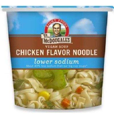 Dr. Mcdougall's Chicken Noodle Soup Cup Ls 6x 1.4OZ