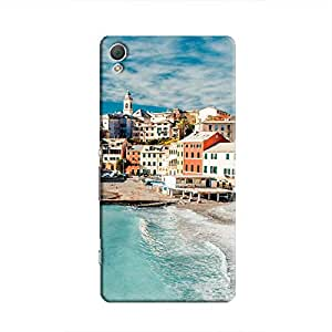 Cover It Up - Beach Town Xperia Z2 Hard Case