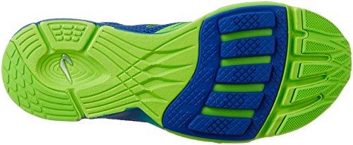 Newton Running Hommes Distance 7 Blue / Lime