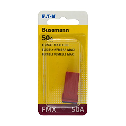 Bussmann (BP/FMX-50-RP) Red 50 Amp Female Maxi Fuse