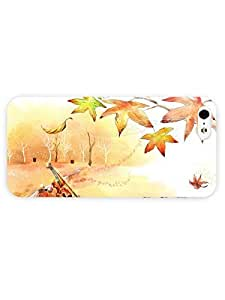 3d Full Wrap Case for iPhone 5/5s Digital Art - Violin In The Park