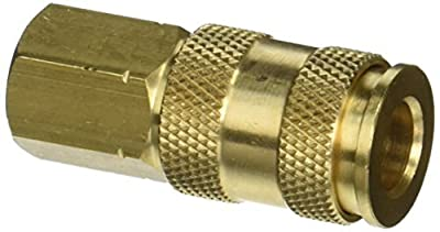 Milton S-764 1/4 FNPT V Style High Flow Coupler by Milton Industries
