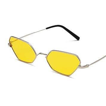YHgiway Diseñador de Moda Gato Ojo Gafas de Sol Retro ...