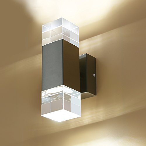 High Quality Modern Decorative Lighting National Ceiling: GeeKeep Modern 6W LED Up Down Wall Sconce Lighting