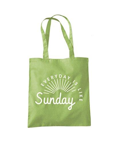 Shopper Fashion Everyday Kiwi Tote Is Like Sunday Green Bag wwCqgP