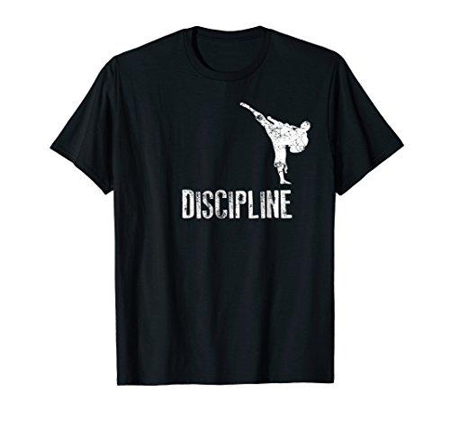 Karate Shirt, Discipline Cool Martial Arts Gift