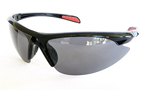 Angler Eyes Mens Polarized Sport Sunglasses (1295) 100% UVA & UVB Protection+ FREE BONUS MICROSUEDE CLEANING - Eyes Sunglasses Angler