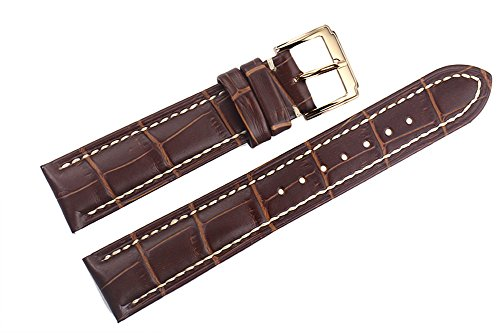 20mm-brown-luxury-italian-leather-replacement-watch-straps-bands-handmade-white-stitching-for-high-e