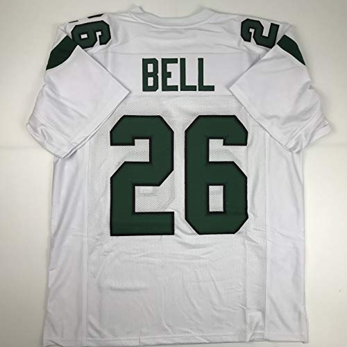 - Unsigned Le'Veon LeVeon Bell New York White Custom Stitched Football Jersey Size XL New No Brands/Logos