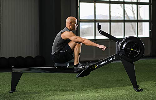 Concept2 Model E with PM5 Performance Monitor Indoor Rower Rowing Machine Black by Concept2 (Image #9)