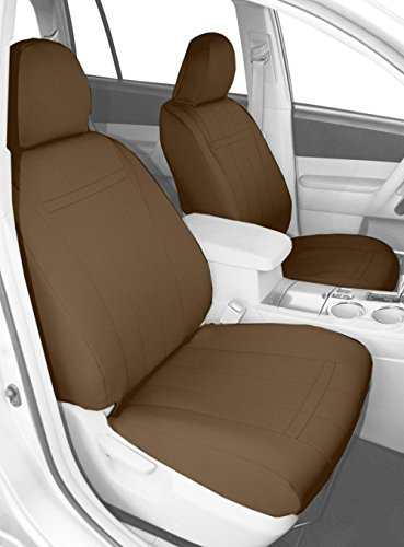 Caltrend Front Bucket Custom Fit Seat Cover for Select Fo...