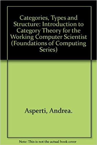 Categories, types, and structures. Introduction to category theory for computer scientists