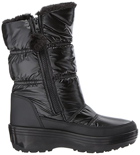 Alaska Femme UK Black Bottes Noir Skechers 5 EBcqdq