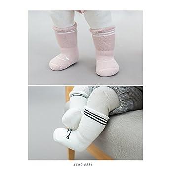 3 Pair Unisex Newborn Toddler Socks Cartoon Design dkDaKanl Baby Boys Girls Socks Long Tube