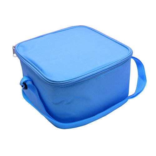 Price comparison product image Bentgo Bag - Insulated Lunch Box Bag Keeps Food Cold On The Go - Blue