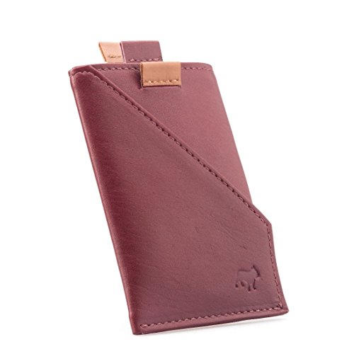 The Holder The Burgundy Frenchie Frenchie Co Calfskin Co Speed Card Calfskin Speed tqH16c