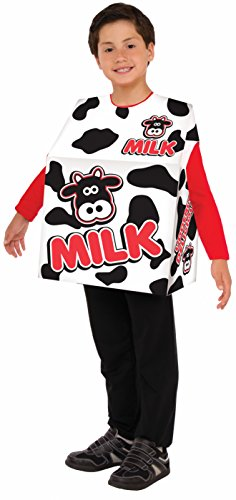Forum Novelties Kids Milk Carton Costume, One Size -