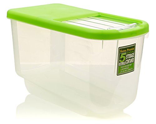 Food Storage Container Low Profile For Cupboard And