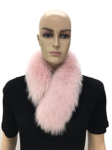 HIMA 100% Real Fox Fur Headband (Baby Pink) by Hima