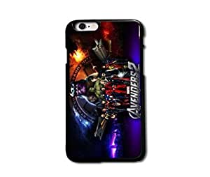 Tomhousomick Custom Design The Avengers Spider-Man Captain America The Hulk Thor Ant-Man Black Widow Iron Man Case Cover For iPhone 6 plus 5.5 inch 5.5 hjbrhga1544