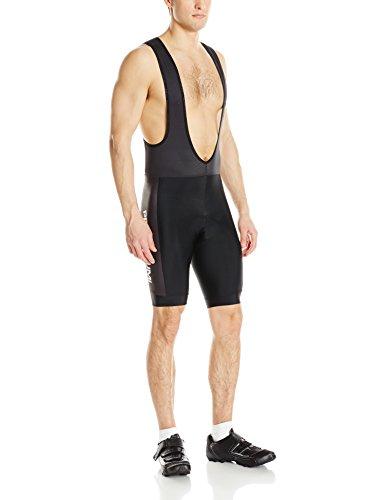 Pearl iZUMi Men's Select Ltd Bib Shorts, Black/Pi, X-Large