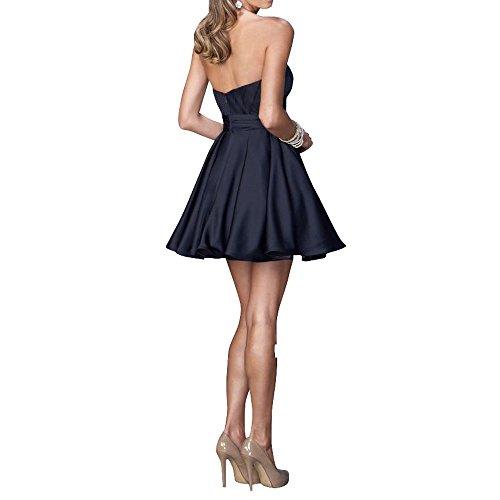 Brautjungfernkleider Cocktailkleider Partykleider Abendkleider Tanzenkleider Brau Lila mia Kurzes Festlichkleider La Einfach Mini CwHYHg