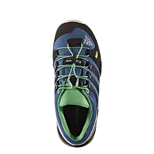 adidas Terrex K, Botas de Montaña Unisex Niños Azul (Azubas/negbas/blatiz)